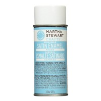 MARTHA STEWART ENAMEL FINISH 4.5 OZ SATIN (US)
