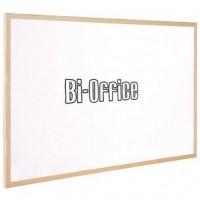 Bi-Office Non-Magnetic Whiteboard Wooden Frame 90x120cm