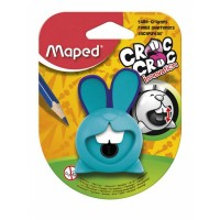 Maped Sharpner 1Hole Croc Croc Innovation Blister Pack