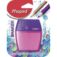 Maped Pencil Sharpner 2 Hole Shaker Blister Pack