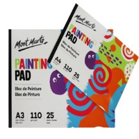 Mont Marte Painting Pad A3 110gsm 25 sheets