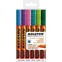 MOLOTOW™ 127HS Basic-Set 2 - 2mm, Pkt of 6