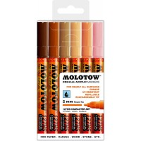 MOLOTOW™ 127HS Character-Set - 2mm, Pkt of 6
