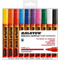 MOLOTOW™ 227HS Basic-Set 1 - 4mm, Pkt of 10