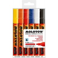 MOLOTOW™ 227HS Basic-Set 1 - 4mm, Pkt of 6