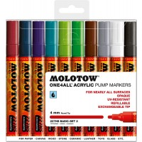 MOLOTOW™ 227HS Basic-Set 2 - 4mm, Pkt of 10