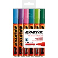 MOLOTOW™ 227HS Basic-Set 2 - 4mm, Pkt of 6