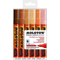MOLOTOW™ 227HS Character-Set - 4mm, Pkt of 6