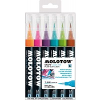 MOLOTOW™ GRAFX™ Aqua Ink Basic-Set 2