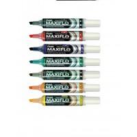 Pentel MWL6 Maxiflow White Board Marker Chisel Tip