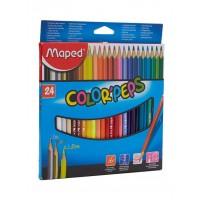 Maped Color Peps Pencils Set of 24 Colors