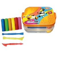 Kiddy Clay Modelling Clay set of 7Color and 10 Mold
