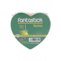 Fantastick Sticky Notes Fluorecent 5 Color Hearts