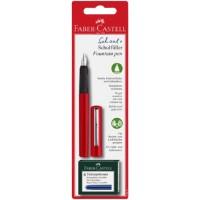 FABER-CASTELL Fountain Pen School + Red