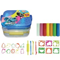 Kiddy Clay Modelling Clay set of 7 Color and 16 Mold