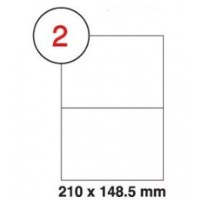 Formtec Label 200/210x148mm #2 Box of 100 Sheets