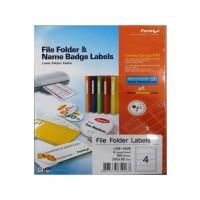 Formtec Label LAF Broad 400/200x60mm Box of 100Sheets