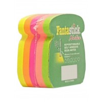 Fantastick Sticky Notes Fluorecent. 5 Color Phone