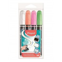 Maped Multi Surface ErasableMarker Set of 4 B