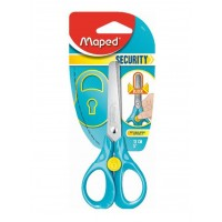 Maped Scissors Security 3D 13cm Blister Pack