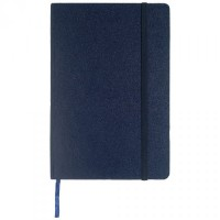 AMS-NBSN 102 - SANTHOME Hard Cover A5 Ruled Notebook - Blue