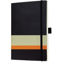 AMS-NBSN-114- RULBUK - SANTHOME Soft Cover A5 Notebooks - (Ruled Sheets)