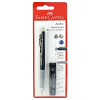 FABER-CASTELL Apollo Mech Pencil 0.7mm In Blister of 1 PC+1 Tube Lead