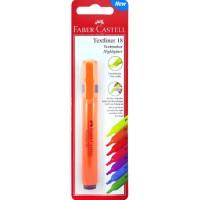 FABER-CASTELL Highlighter Textliner 18 Orange Blister(Slim)