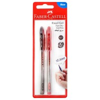FABER-CASTELL Gel pen Excel Gel 0.7 Black/Red 2x BC