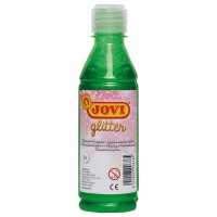 JOVI Liquid Poster Paint 250cc Glitter Medium Green