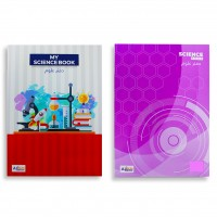 Science Book A4 Size