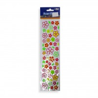 Sticker Assorted Flower Design