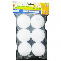 Craft Mat Thermocol Balls 6pc