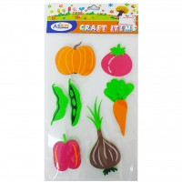 Decorative EVA Sticker Vegetable