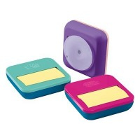 Post-it? Pop-up Note Dispenser + note pad OL-330-PD. 3 x 3 in (76 mm x 76 mm), 1 dispenser/pack