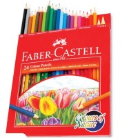 Pencil Colour Fabercastell 24 Colour Pencils
