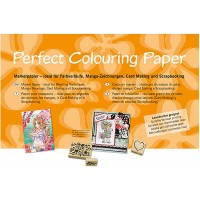 Perfect Colouring Paper - A3 Size - pkt of 10 Sheets