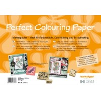 Perfect Colouring Paper - A4 Size - pkt of 10 Sheets