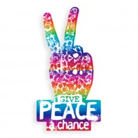 TFD-FOIL RAINBOW PEACE CHANCE