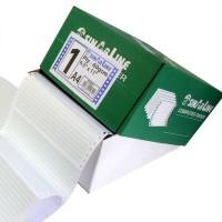 """Computer Paper 9.5"""" * 11"""" Plain 1 Ply"""