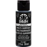 FOLKART MULTI-SURFACE Paint - PURE BLACK