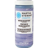 MARTHA STEWART VINTAGE PAINT 8 OZ. PURPLE DUSK