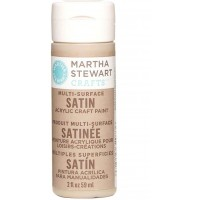 MARTHA STEWART MULTI SURFACE PAINT SATIN 2 OZ. ROOT BEER FLOAT