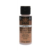 Folkart EXTREME GLITTER Multi Surface Paints ROSE GOLD