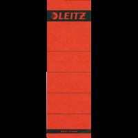 Leitz SPINE LABEL-RED-SHORT-BROAD