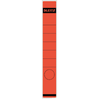 Leitz SPINE LABEL-RED-LONG-NARROW