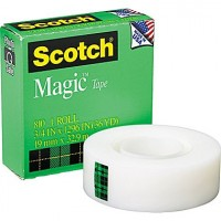 Scotch Magic Tape 3M 3/4 inch x 36 Yds