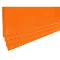 SADIPAL Sirio Card Board Colour Sheets-50x65cm-170 GMS-Dark Orange 25SHT/PK