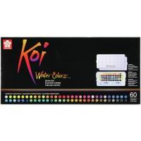 "Sakura Studio Set Koi Watercolor Kit, 60"", Assorted"