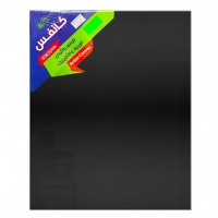 Canvas Board Black 40x50cm